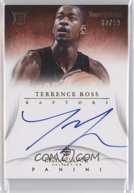2012-13 Panini Immaculate Collection - Inscriptions #IN-RO - Terrence Ross /99