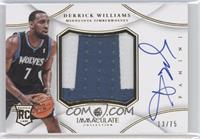 Derrick Williams /75