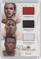 Joakim Noah, Nate Robinson, Derrick Rose /99