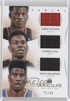 Iman Shumpert, Jimmy Butler, Norris Cole /99