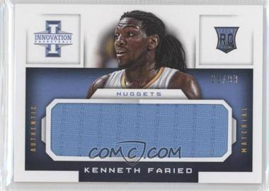 2012-13 Panini Innovation - Rookie Jumbo Jerseys #3 - Kenneth Faried /99