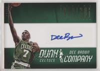 Dee Brown #/20