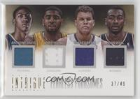 Anthony Davis, Blake Griffin, John Wall, Kyrie Irving #/49