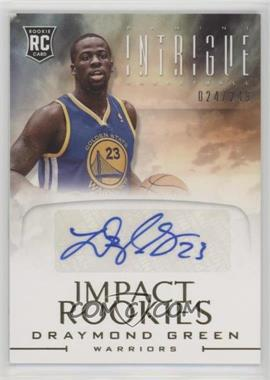 2012-13 Panini Intrigue - Impact Rookies Autographs #19 - Draymond Green /249