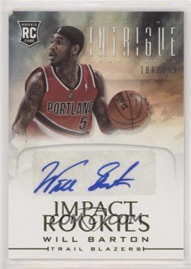 2012-13 Panini Intrigue - Impact Rookies Autographs #39 - Will Barton /199