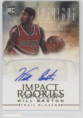 2012-13 Panini Intrigue - Impact Rookies Autographs #39 - Will Barton /199