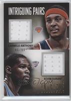 Carmelo Anthony, Kevin Durant #/99