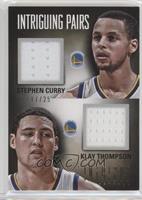Klay Thompson, Stephen Curry /25