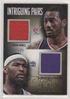 John Wall, DeMarcus Cousins [Poor to Fair] #/25