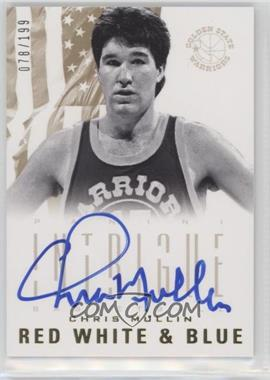 2012-13 Panini Intrigue - Red White and Blue Autographs #22 - Chris Mullin /199