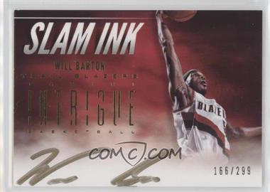 2012-13 Panini Intrigue - Slam Ink #44 - Will Barton /299