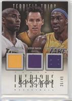 Dwight Howard, Steve Nash, Kobe Bryant #/49