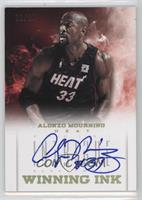 Alonzo Mourning [Noted] #/10