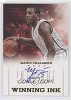 Mario Chalmers #/25