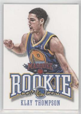 2012-13 Panini Marquee - [Base] #403 - Klay Thompson
