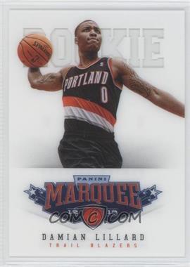 2012-13 Panini Marquee - [Base] #461 - Damian Lillard