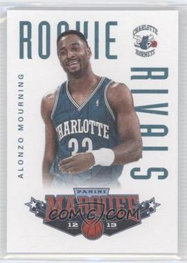 2012-13 Panini Marquee - Rookie Rivals Leather #13 - Alonzo Mourning, Shaquille O'Neal