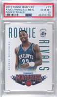 Alonzo Mourning, Shaquille O'Neal [PSA 10 GEM MT]