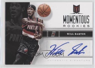 2012-13 Panini Momentum - Momentous Rookies Autographs #71 - Will Barton