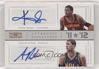 Austin Rivers, Kyrie Irving #/49