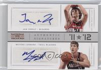 Jan Vesely, Meyers Leonard #/99