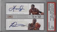 Dion Waiters, Kyrie Irving /49 [PSA9]