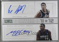 Enes Kanter, Michael Kidd-Gilchrist [Noted] #/10