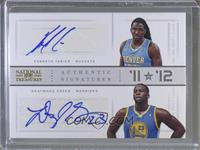 Draymond Green, Kenneth Faried /25