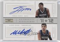 Alexey Shved, Tobias Harris /25