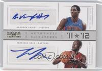 Brandon Knight, Terrence Ross /25