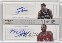 Mike Scott, Tobias Harris #/25