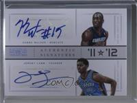 Jeremy Lamb, Kemba Walker /1
