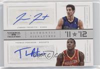 Jimmer Fredette, Thomas Robinson /25
