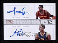 Austin Rivers, Kyrie Irving [Noted] #/49