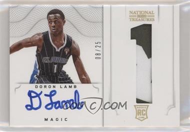 2012-13 Panini National Treasures - [Base] - Jersey Number Prime #183 - 2012 Rookies Autographed Memorabilia - Doron Lamb /25