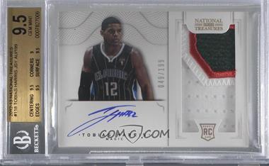 2012-13 Panini National Treasures - [Base] #118 - Group I Rookies 2011 Rookies - Tobias Harris /199 [BGS9.5GEMMINT]