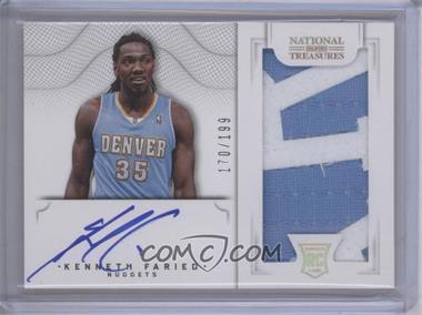 2012-13 Panini National Treasures - [Base] #120 - Group I Rookies 2011 Rookies - Kenneth Faried /199