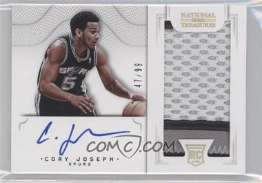 2012-13 Panini National Treasures - [Base] #126 - Group I Rookies 2011 Rookies - Cory Joseph /99