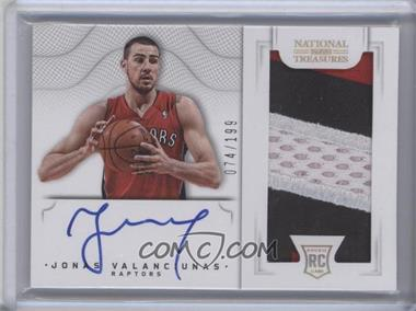 2012-13 Panini National Treasures - [Base] #130 - Group I Rookies 2011 Rookies - Jonas Valanciunas /199