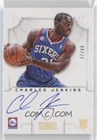 Group I Rookies Autographs - Charles Jenkins /99