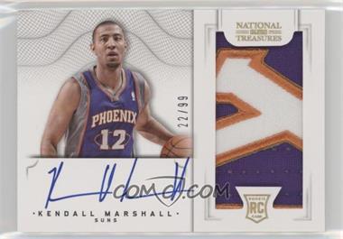 2012-13 Panini National Treasures - [Base] #163 - Group II Rookies 2012 Rookies - Kendall Marshall /99
