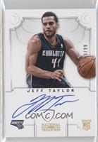 Group II Rookies Autographs - Jeff Taylor /99