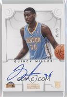 Group II Rookies Autographs - Quincy Miller /99