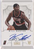 Group II Rookies Autographs - Will Barton #/99