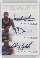 Chauncey Billups, Joe Dumars, Isiah Thomas /10
