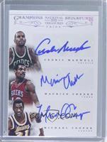 Cedric Maxwell, Michael Cooper, Maurice Cheeks #/10