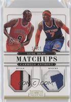 Carmelo Anthony, Luol Deng  /25