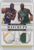 Dwight Howard, Kevin Garnett /25