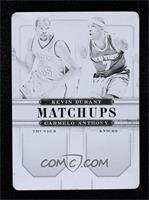 Kevin Durant, Carmelo Anthony #/1