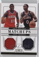 Jeff Teague, Jrue Holiday /99